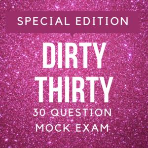 dirty thirty
