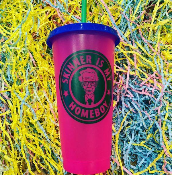 skinner is my homeboy cup